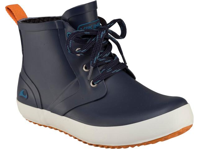Viking Footwear Lillesand Rubber Boots Kinder navy/orange